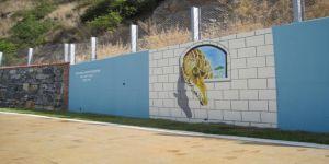 Darıca Sahil Parkı'na estetik dokunuş
