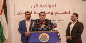 Hamas: İsrail'in ilhak planıyla mücadele için ulusal faaliyet başlatıldı