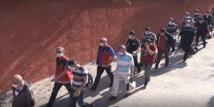 Balıkesir merkezli FETÖ operasyonunda 27 eski polis daha adliyeye sevk edildi