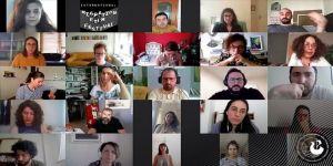 Yapımcı Zeynep Atakan Uluslararası Göç Filmleri Festivali'nde gençlerle bir araya geldi