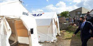 Depremzedelere yardımlar AFAD ve Kızılay koordinesinde ulaştırılacak