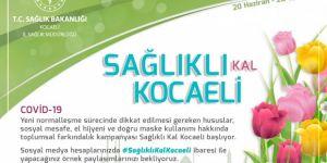 #SağlıklıKalKocaeli kampanyası başlıyor