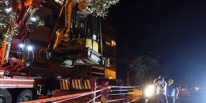 Bursa'da çöken istinat duvarının enkazında yürütülen arama kurtarma çalışması sonlandırıldı