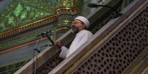 Diyanet İşleri Başkanı Erbaş: İçinde cemaati olmayan camiler gariptir