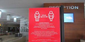 'Sosyal mesafeli' termal oteller müşteri almaya başladı