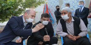 Cumhurbaşkanı Erdoğan, terör örgütü PKK'nın katlettiği işçinin ailesiyle görüştü