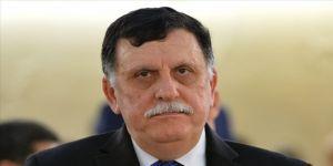 Libya Başbakanı Serrac liderliğindeki heyet, Cezayir Cumhurbaşkanı Tebbun'la görüştü