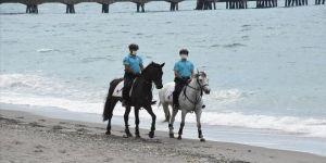Zonguldak'ta atlı tim görevine başladı
