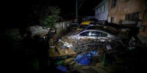 Bursa'da 2 kişi sel nedeniyle hayatını kaybetti