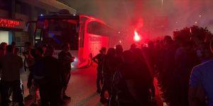 Trabzonspor'a taraftarlardan destek