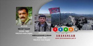 Bitlis'te etkisiz hale getirilen teröristlerin gri listede oldukları belirlendi