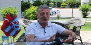 Trabzonspor Kulübü Başkanı Ahmet Ağaoğlu: Bizi provokasyonunun içine çekmeye çalışıyorlar