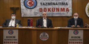 Türk-İş Genel Başkanı Atalay: Kıdem tazminatı yoksa sendikacılığa da gerek yok