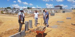 Balçık Mezarlığı hizmet binası ve Taziye Evi tamamlanıyor