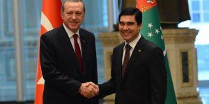 Cumhurbaşkanı Erdoğan, Türkmenistan Devlet Başkanı Berdimuhammedov ile telefonda görüştü