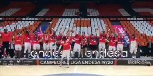 İspanya 1. Basketbol Ligi'nin şampiyonu Baskonia oldu