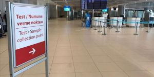 İstanbul Havalimanı'nda Kovid-19 Test Merkezi kuruldu