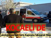 Genç Kadın, Çalıştığı İşyerinin Giriş Kapısına Sıkışarak Hayatını Kaybetti