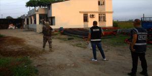 Adana'da silahlı organize suç örgütüne yönelik operasyon