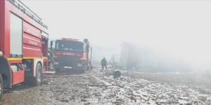 Sakarya'da havai fişek fabrikasında soğutma çalışmaları sürüyor