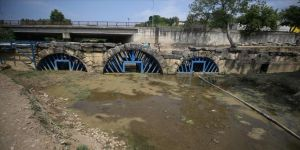 Düzce'deki tarihi Roma köprüsü gün yüzüne çıkarılıyor