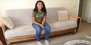 Serebral palsi hastası Senanur yürümek için yardım bekliyor