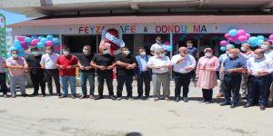 Ev hanımlığından İşletmeciliğe ! ''Feyza Cafe Dondurma'' açıldı