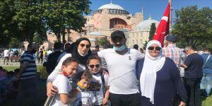 Farklı ülkelerdeki Müslümanlar da Ayasofya'da namaz kılmak için sabırsızlanıyor