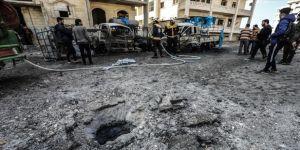 Esed rejiminin İdlib'e saldırısında iki sivil yaşamını yitirdi