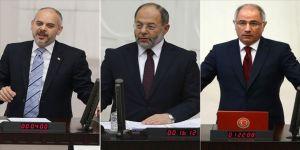 Eski bakanlar komisyon başkanı seçildi