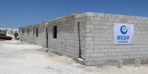 Beşir Derneğinin İdlib'de inşa ettirdiği 180 evin yapımı tamamlandı