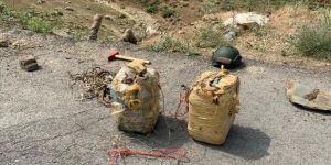 MSB: Yüksekova'da el yapımı patlayıcı imha edildi