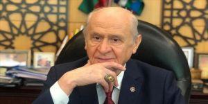 MHP Genel Başkanı Bahçeli'ye 'Ayasofya' yüzüğü