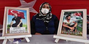 Diyarbakır annelerinden Çiftçi: Çocukları PKK tarafından kaçırılan bütün aileler buraya gelsin bize destek versin