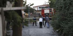 Başkentte gecekonduda yangın: 1 ölü, 1 yaralı
