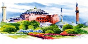 Gebze'de Ödüllü Ayasofya Konulu Resim Yarışması