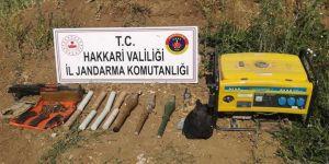 'Yıldırım-2 Cilo Operasyonu'nda silah, patlayıcı ve mühimmat ele geçirildi
