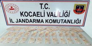 Gebze'de sahte para ile kurban alımı yapacağı öğrenilen kişiler yakalandı