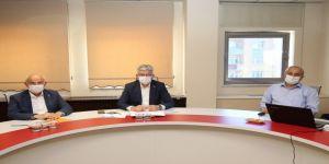 Büyükgöz'den, AK Parti İl Başkanı Mehmet Ellibeş'e hizmet sunumu