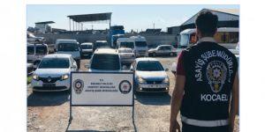 Çaldıkları araçları 'change' yaparak satan 2 kişi yakalandı