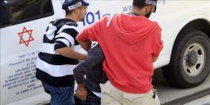 İsrail polisi Kudüs'te 3 Filistinli çocuğu gözaltına aldı