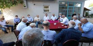Gebze'nin beş köyünde vatandaşla buluştu