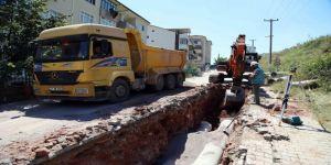 Yenimahalle'de altyapı hatları yenileniyor