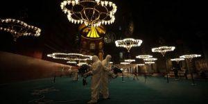 Ayasofya-i Kebir Cami-i Şerifi dezenfekte edildi
