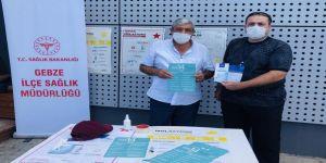 Gebze İlçe Sağlık Müdürlüğü,vatandaşlara bilgilendirmede bulundu