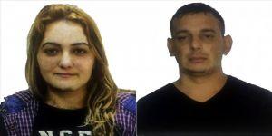 Firari kadın hükümlü ve kaçmasına yardım eden kocası yakalandı