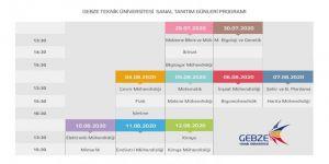 GTÜ sanal tanıtım günleri başladı