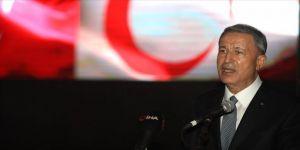 Milli Savunma Bakanı Akar'dan 'Doğu Akdeniz' mesajı