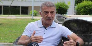 Trabzonspor Başkanı Ahmet Ağaoğlu'ndan CAS kararı tepkisi