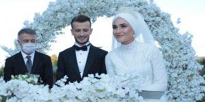 Trabzonsporlu futbolcu Abdulkadir Parmak evlendi